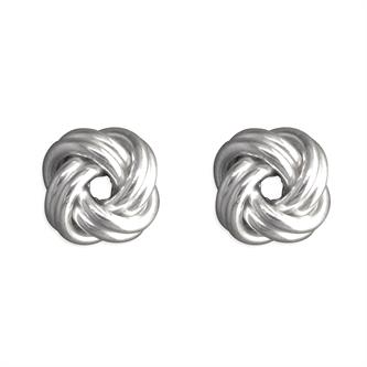 LARGE KNOT EARRINGS
