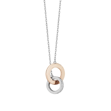 TWO TONE ROSE GOLD NECKLACE